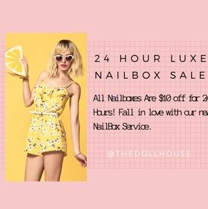 $10 OFF YOUR FIRST 'LUXE NAILBOX' by The Dollhouse